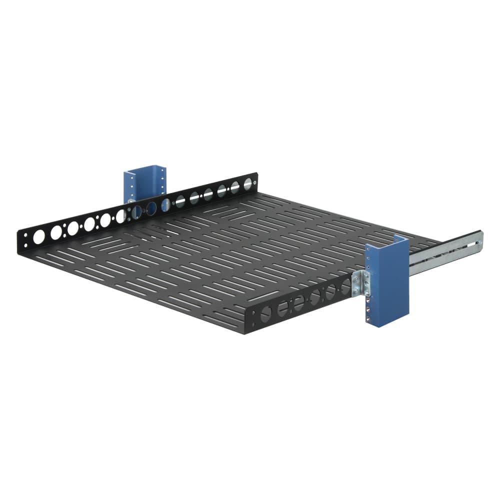 """1U 23"""" Fixed Rack Shelf"""