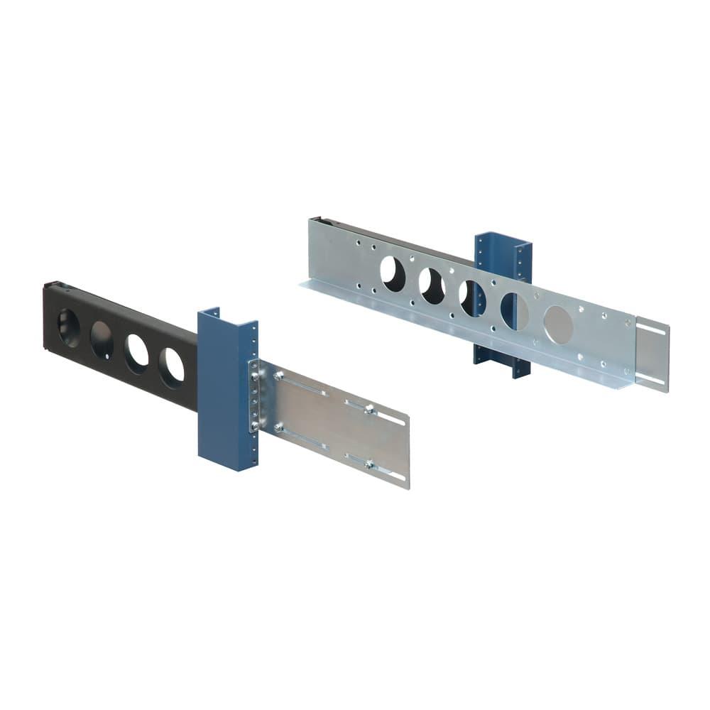 2U, 2 Post Universal Rack Rails
