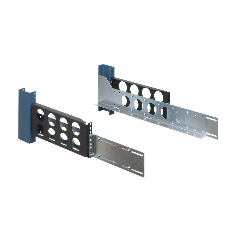 3U, 2 Post Universal Rack Rails
