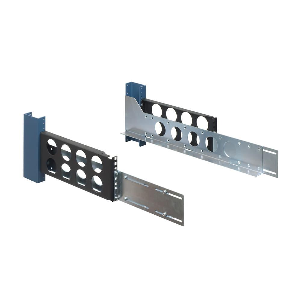 3U, 2 Post Universal Rack Rail