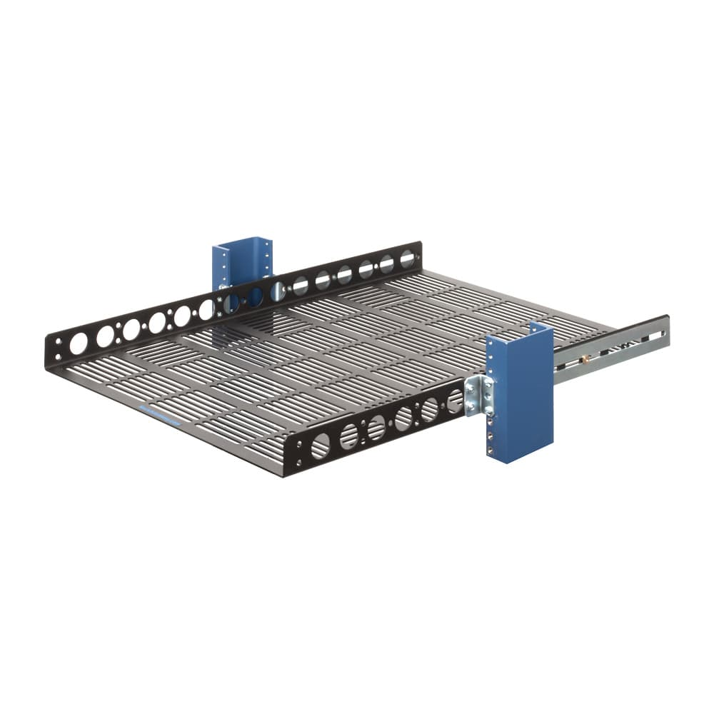 "1U Fixed Rack Shelf -24"" Depth"